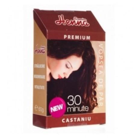 Henna Premium Castaniu 60 gr