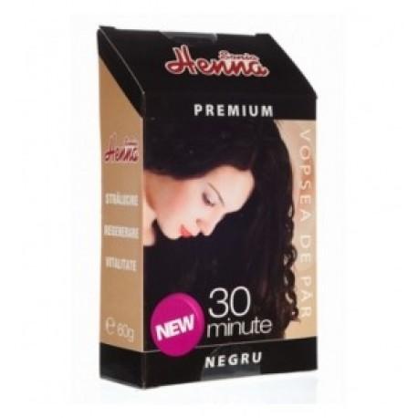 Henna Premium negru 60 gr