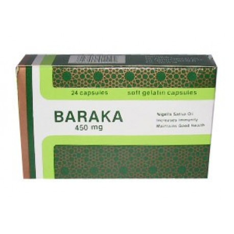Baraka 450 mg 24 cps