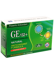 Antioxidant Natural GE 132 Plus, 60 capsule