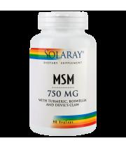 MSM - ajuta sistemul osteoarticular, 90 capsule