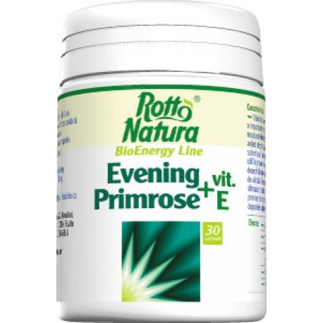 Evening primrose Vitamina E 30 cps