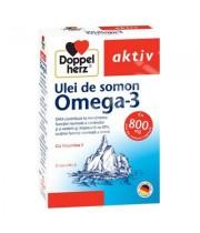 Omega 3 ulei somon vitamina E 120 cps