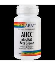 AHCC Plus NAC & Beta Glucan - pentru sistemul imunitar, 30 capsule
