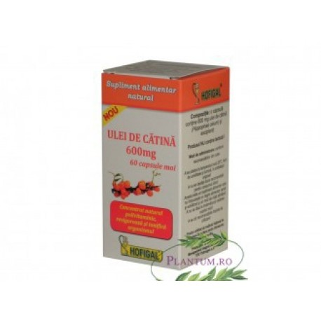 Ulei catina 600 mg 60 cps moi