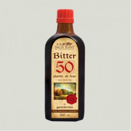 Remediu Bitter 50 plante Ganoderma 500 ml