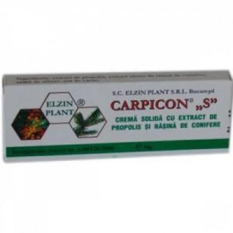 Carpicon S Supozitor 1.5 gr * 10 Supozitoare