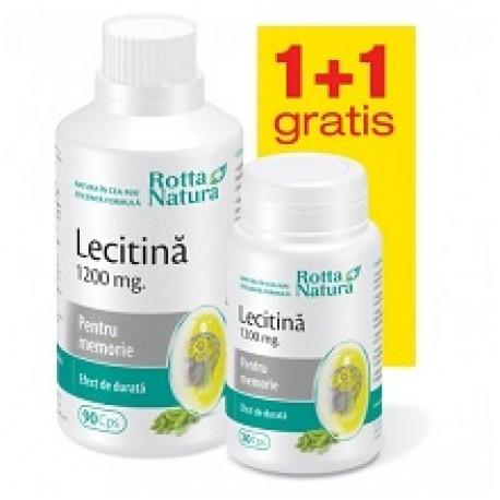 Lecitina 1200 mg 90 cps + 30 cps Gratis