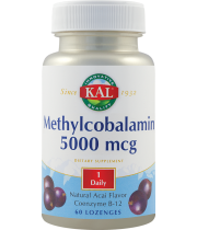 Methylcobalamin 5000mcg 60cpr