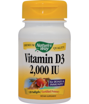 Vitamin D3 2000UI (adulti) 120cps