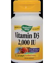 Vitamin D3 2000UI (adulti) 120cps